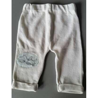 Zus en Zo Zelfgemaakt - comfortabele baby legging van gerecyclede stof -
