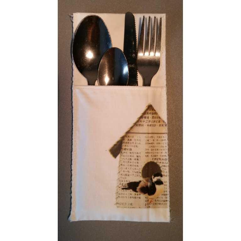 Zus en Zo Zelfgemaakt - serie vogelhuisjes tafellinnen -