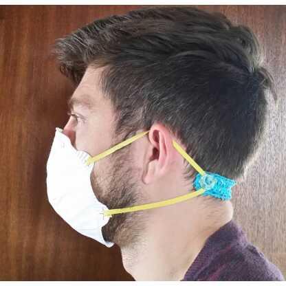 Zus en Zo Zelfgemaakt - Handige mondkapjes met elastiek -