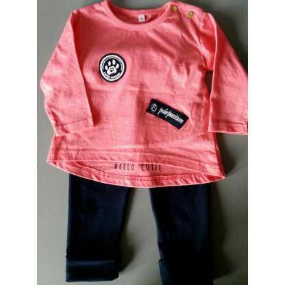 Zus en Zo Zelfgemaakt - set T-shirt + legging -